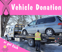 Vehicle Donation to support Breast Cancer Action Ottawa! FreeTow