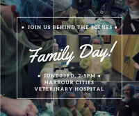 Harbour Cities Veterinary Hospital, Family Day !