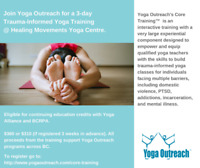 Trauma Informed Yoga Training through Yoga Outreach