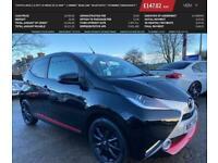 2017 Toyota AYGO 1.0 VVT-I X-PRESS 5d 69 BHP * 1 OWNER * REAR CAM * BLUETOOTH *
