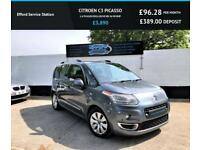 2009 59 CITROEN C3 PICASSO 1.6 PICASSO EXCLUSIVE HDI 5D 90 BHP DIESEL