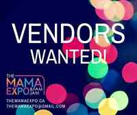 VENDORS WANTED - The Mama Expo on April 3rd