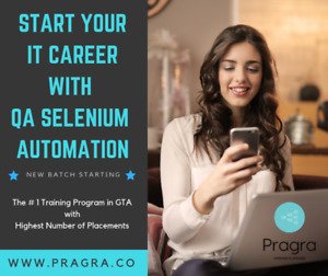 QA Selenium Automation Testing with Placement Assistance Nov 24
