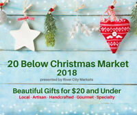 Vendors! 20 Below Christmas Market is almost sold out! Book now!
