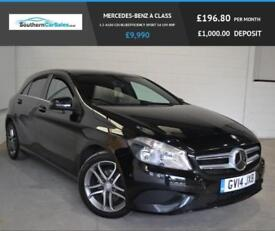 2014 14 MERCEDES-BENZ A CLASS 1.5 A180 CDI BLUEEFFICIENCY SPORT 5D 109 BHP DIESE
