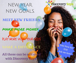 Join Discovery Toys and Build Your Own Home Business