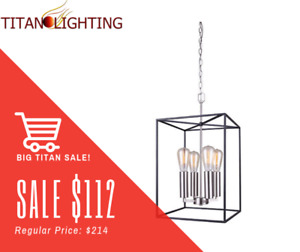 SUPER MASSIVE SALE ON ALL CHANDELIERS & LIGHTING!