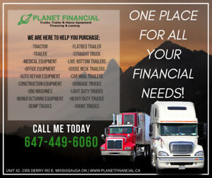 Truck/Trailer Loans Same Day Approvals -Good/Bad Credit Approved