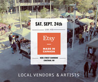 VENDOR CALL FOR TWO CHATHAM SHOWS