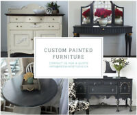 Custom Painted Furniture by Red Wind Studio
