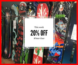 Winter Clearance Sale! Boards, Jackets, Helmets, Goggles & More!