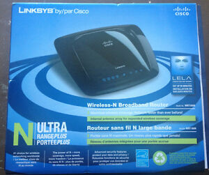 Linksys by Cisco - Wireless N Broadband Router
