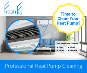 FreshFlo Professional Heat Pump Cleaning