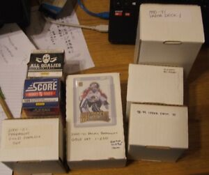 Hockey Card sets 1990-1991 to 2015-16   UpperDeck,Score,Classic