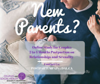 Seeking New Parents Participation in Postpartum Couples Study