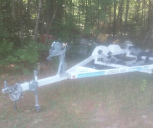 Cradle ride Boat trailer  for sale