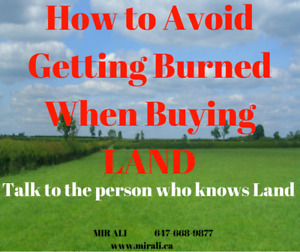 BUYING LAND - How to Avoid Getting Burned When Buying LAND !!!