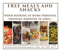Meal Delivery & In Home Personal Training