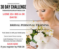 LOSE 15+* POUNDS IN 4 WEEKS! #1 BRIDAL/WOMEN WEIGHTLOSS TRAINER!