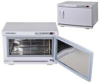 2 en 1 Hot  Chauffe Serviette Cabinet stérilisateur UV Spa Salon