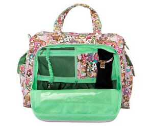 JuJuBe Be Prepared Diaper Bag - Tokidoki Donutella's Sweet Shop