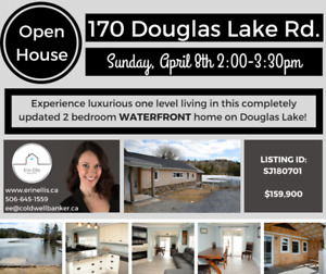 OPEN HOUSE! Sunday April 8th 2:00-3:30pm