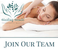 Registered Deep Tissue Massage Therapist Wanted!