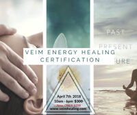 Veim Energy Healing Certification - NOW 33% OFF! April 7