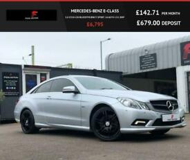 2010 Mercedes-Benz E-CLASS 3.0 E350 CDI BLUEEFFICIENCY SPORT 2d AUTO 231 BHP Cou