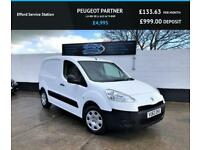 2013 PEUGEOT PARTNER 1.6 HDI SE L1 625 1D 74 BHP, ONLY 44K, FINANCE AVAILABLE