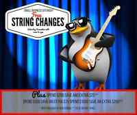 Small Business Saturday@ Tony's One Stop MusicFree String Change