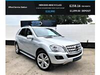 2010 MERCEDES-BENZ M CLASS 3.0 ML300 CDI BLUEEFFICIENCY SPORT 5D AUTO 204 BHP