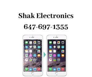 Iphone 6/7 Screen Replacemnt On-spot Starting At $50.00