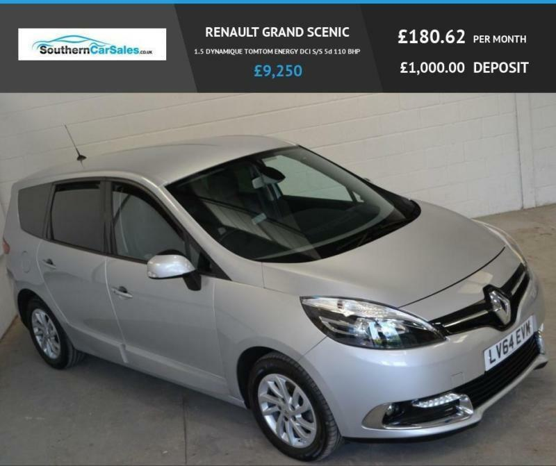 2014 64 RENAULT GRAND SCENIC 1.5 DYNAMIQUE TOMTOM ENERGY