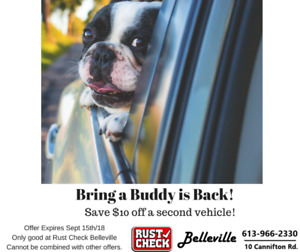 Bring a Buddy is back at Rust Check Belleville!
