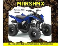 Yamaha YFM 90 2021 Model Childs Quad -Nil Depoist Finance from 67/Mth