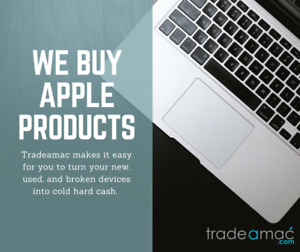 CASH FOR YOUR MAC IPHONE MACBOOK IMAC IPAD!!!!