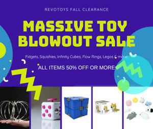 Massive Toy Blowout Sales - Store Closing