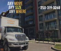 Cargo Chain : We move anything to anywhere ✆ 250-319-3268