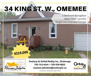 Located in Omemee, Between Peterborough and Lindsay