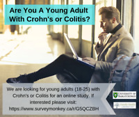 Are You A Young Adult With Crohn's Disease or Colitis?