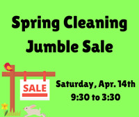 Spring Cleaning Jumble Sale at Manuels River