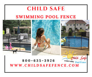 Safety removable pool fence Peterborough : Child Safe Fence