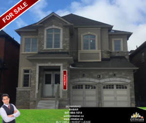 Brand New Detached 4 Bedroom House For Sale in Waterdown