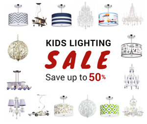 Kids Lights Sale - up to 50% off + Free Shipping