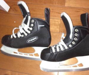 Hockey Skates and Helmet Combo