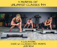 3 Months Unlimited Fitness Bootcamp Classes $99