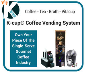 Own An Exclusive K-cup® Coffee Vending Business