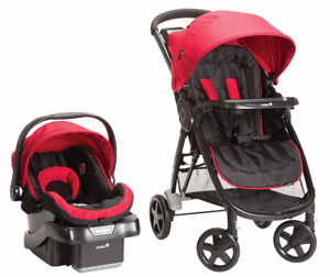 Safety 1st Step and Go 2 Travel System- Scarlet Red-
