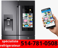 Reparation Frigidaire freezer Fridge réfrigérateur frigo